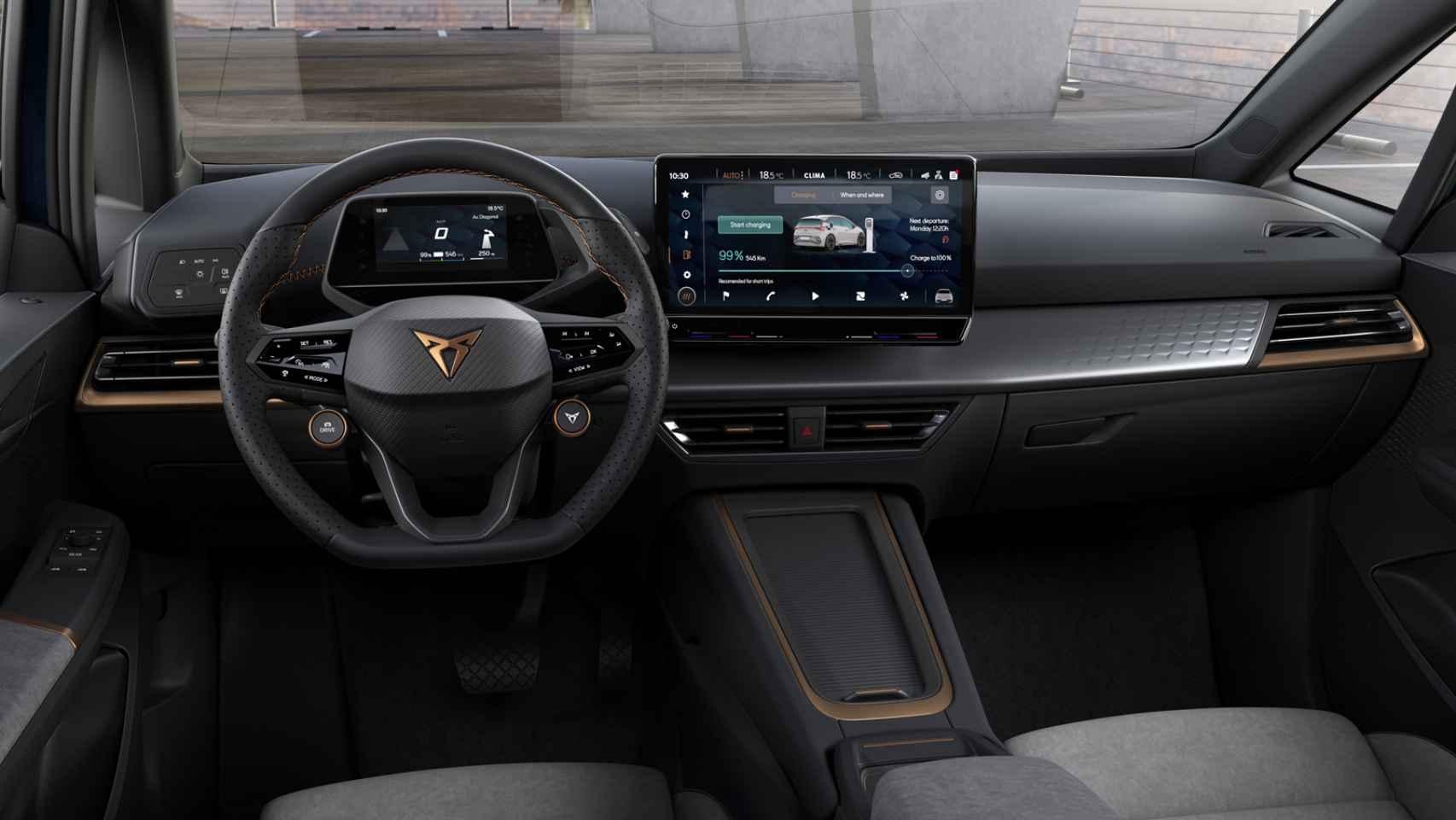 Cupra Born: todas las fotos del nuevo eléctrico de Seat, primo hermano del Volkswagen ID.3