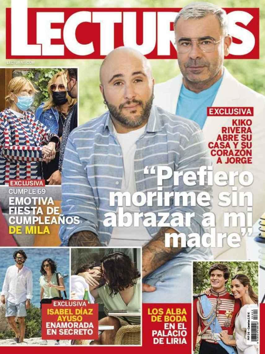 La revista 'Lecturas' de este miércoles, donde aparecen las fotografías de Isabel Díaz Ayuso junto a su nuevo amor.