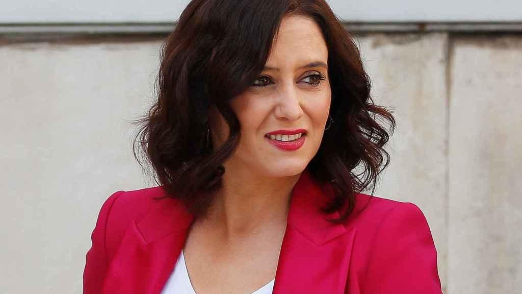 Isabel Díaz Ayuso, en una imagen de archivo.