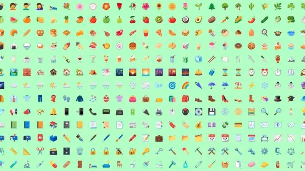 Emojis Android 12
