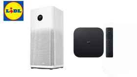 Purificador de aire y Mi TV Box