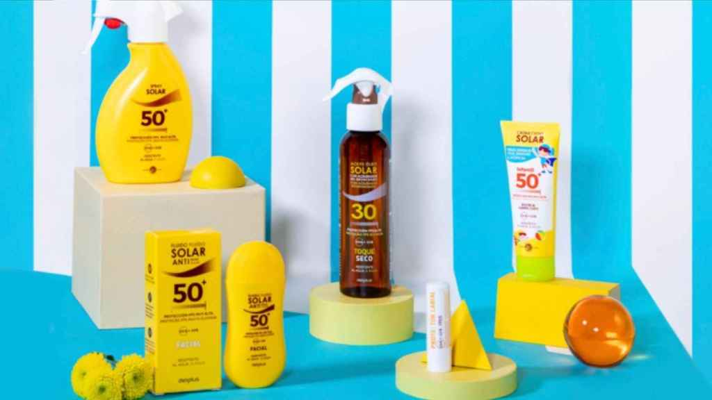 Mercadona inaugurates the good weather with its line of sunscreens.