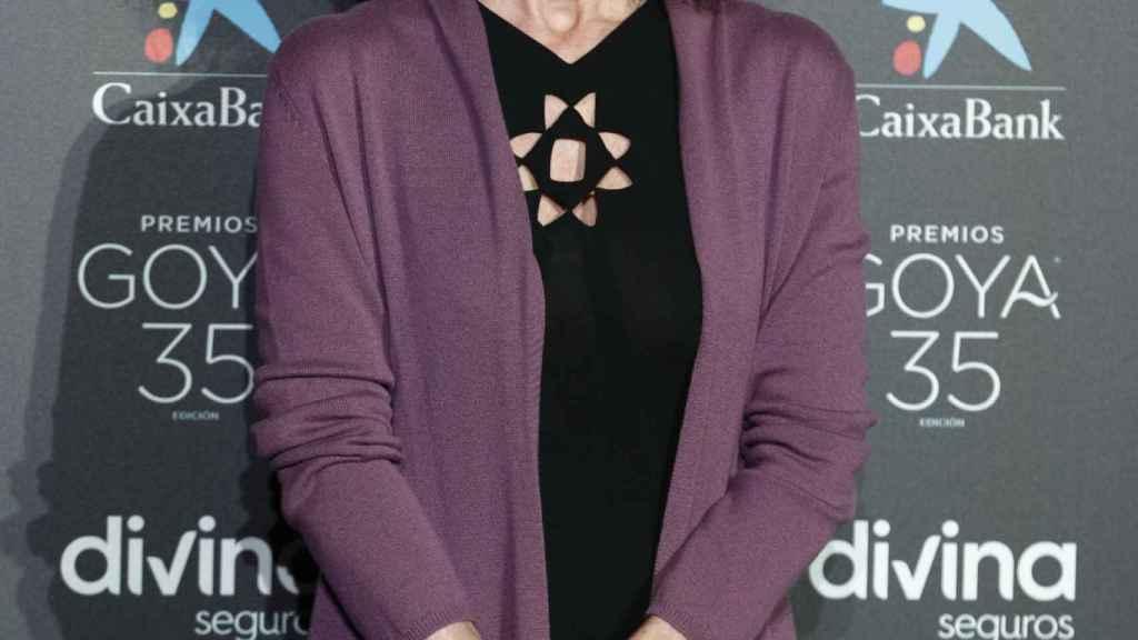 Ana Belén en la gala de los 35 de los Premios Goya.
