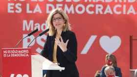 La 'número 2' del partido para las elecciones a la Asamblea de Madrid, Hana Jalloul, será nueva portavoz. EP