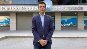 Jorge Saavedra, secretario general del PP de Granada.