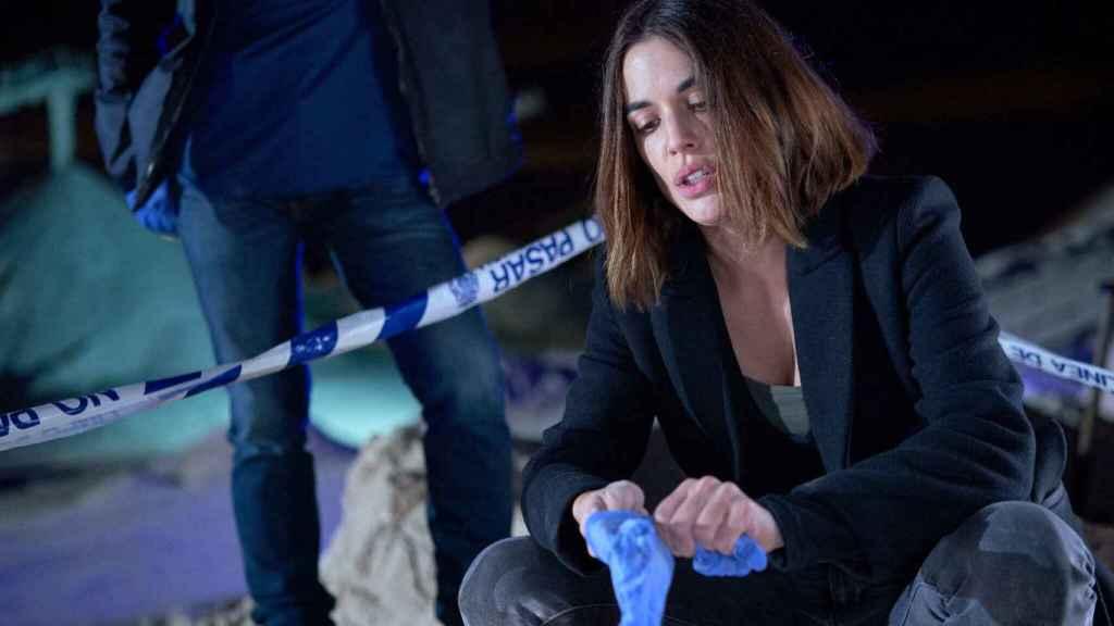 Adriana Ugarte en la serie 'Parot'.