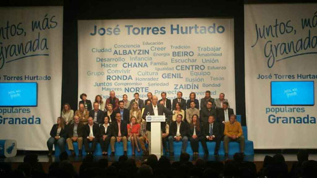 Sebastián Pérez Haciendo campaña por Pepe Torres Hurtado en 2015.
