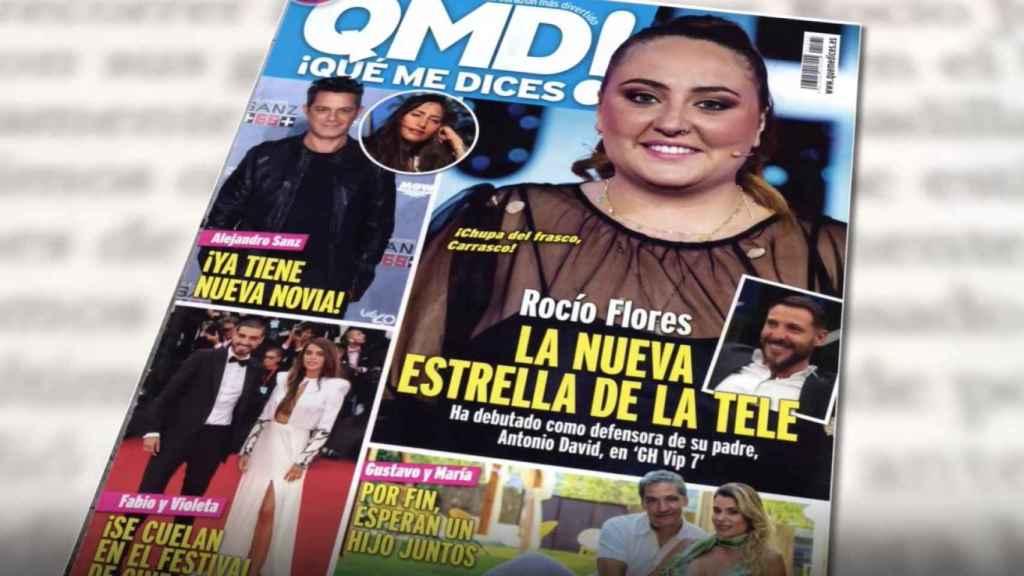 El salto de Rocío Flores a los medios de comunicación y las revistas.