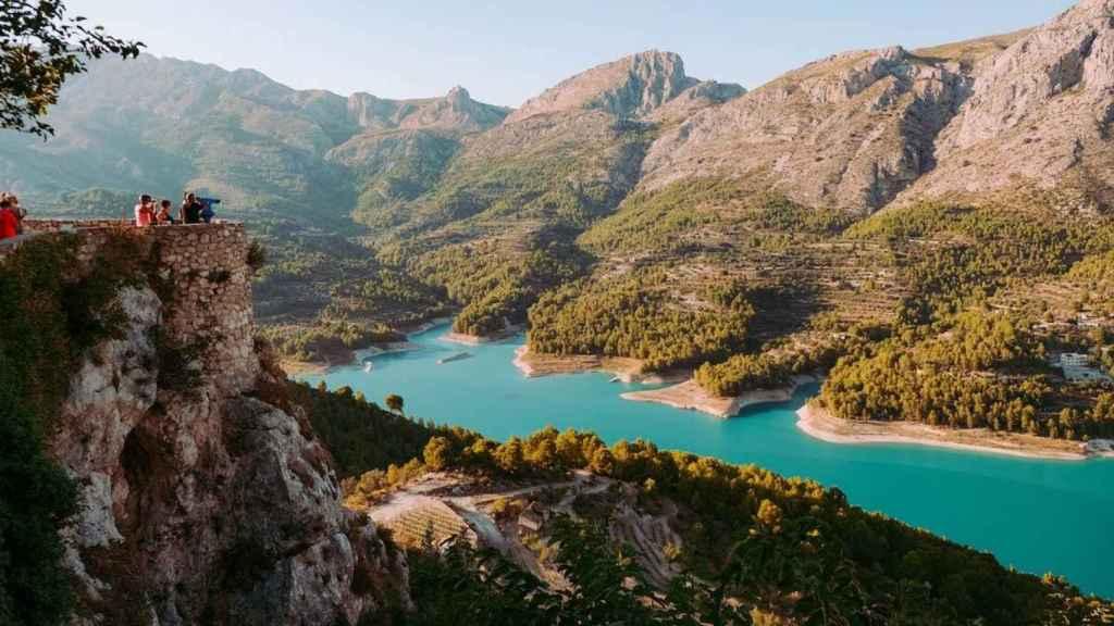 Guadalest está considerado como uno de los pueblos más bonitos de España.
