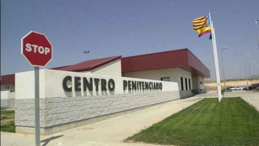 Entrada del Centro Penitenciario Alicante II, en Villena.