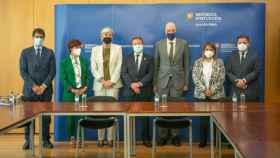 Una delegación de Castilla-La Mancha, encabezada por el presidente de la Junta, Emiliano García-Page, se encuentra de visita oficial en Portugal