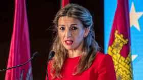 La ministra de Trabajo, Yolanda Díaz, en una imagen de archivo