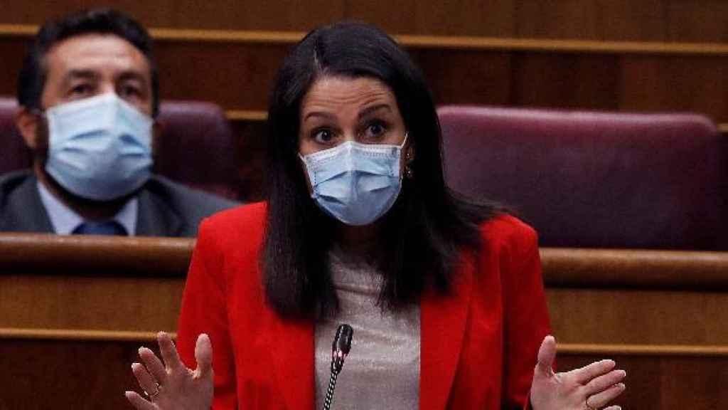 La líder nacional de Ciudadanos, Inés Arrimadas