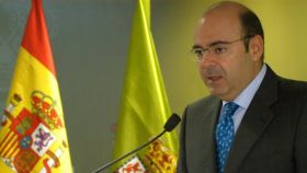 Sebastián Pérez en su etapa de presidente de la Diputación de Granada.