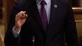 Pedro Sánchez defiende los indultos a los políticos condenados por el 1-O en la sesión de control del Congreso.
