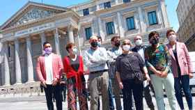 Jaume Asens (Podemos), Borràs (ERC), Pagès (JxCat) y otros socios del Gobierno critican al Supremo por los indultos, ante el Congreso.