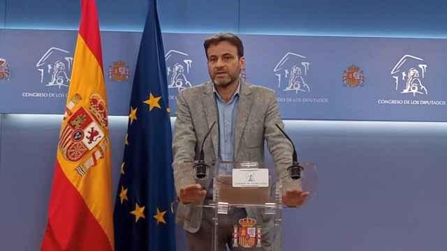 Jaume Asens, presidente del Grupo Parlamentario de Unidas Podemos, en un imagen de archivo. Efe