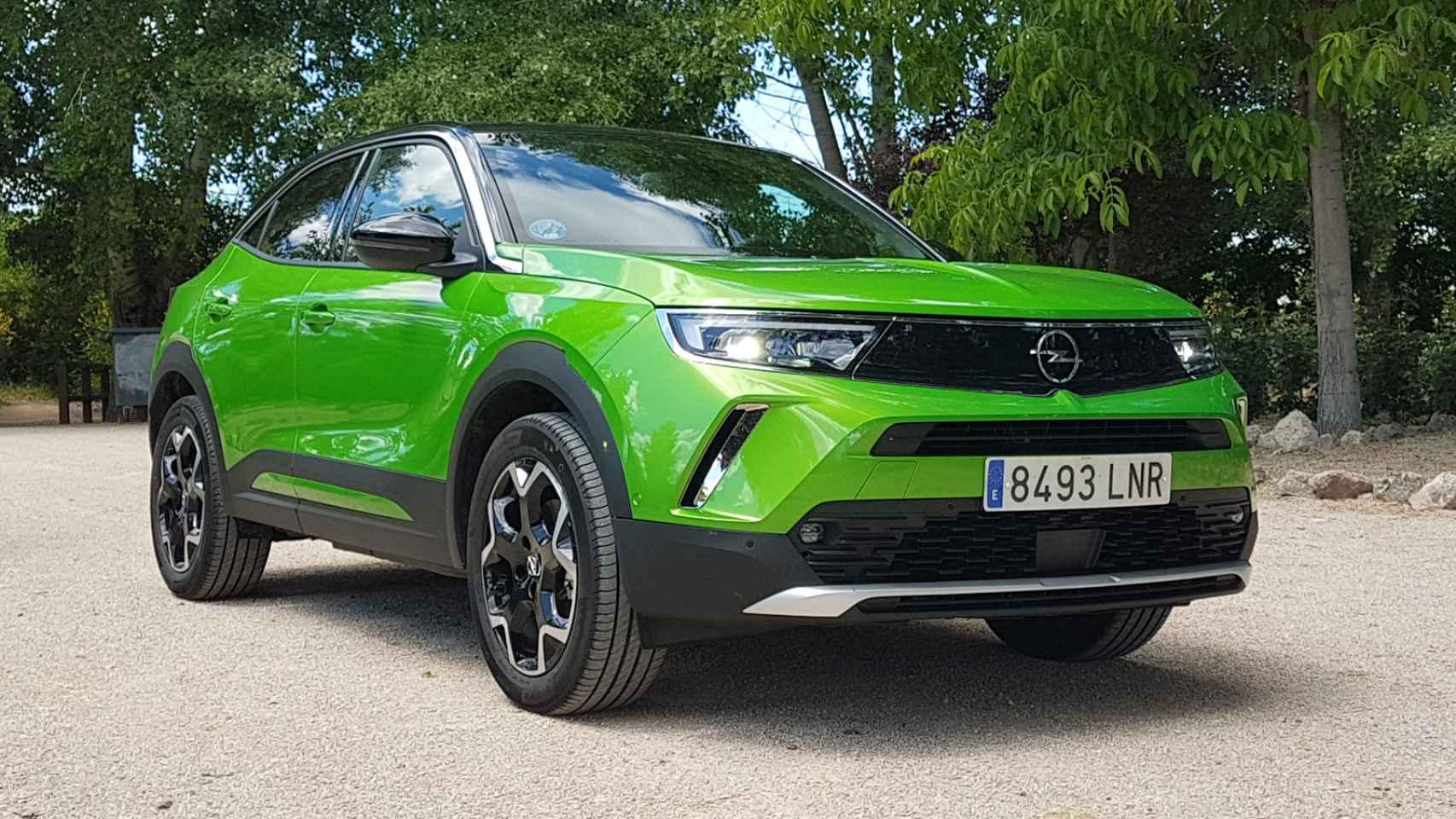 Opel Mokka-e: galería de fotos de este SUV eléctrico
