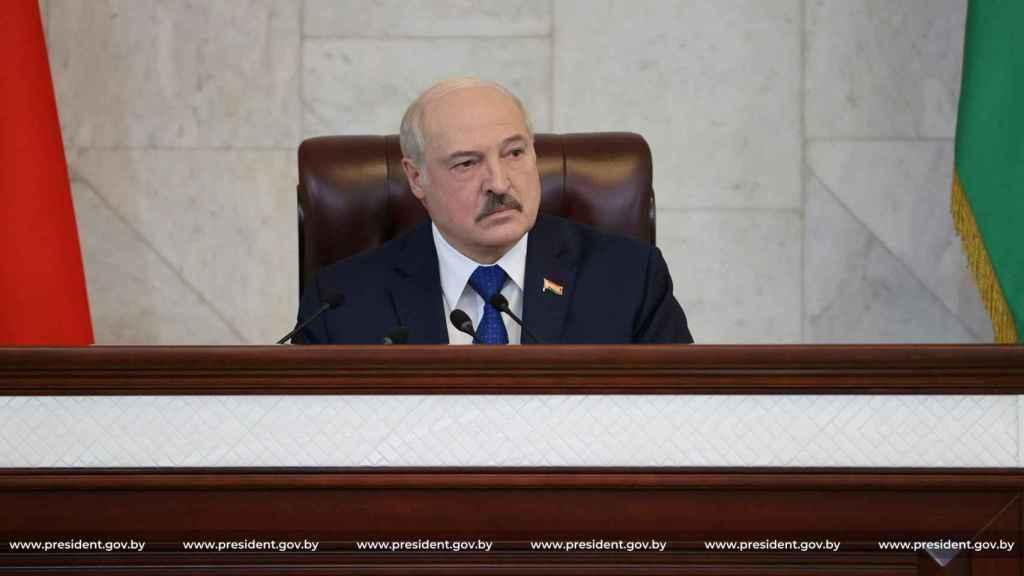 El presidente bielorruso, Aleksandr Lukashenko.