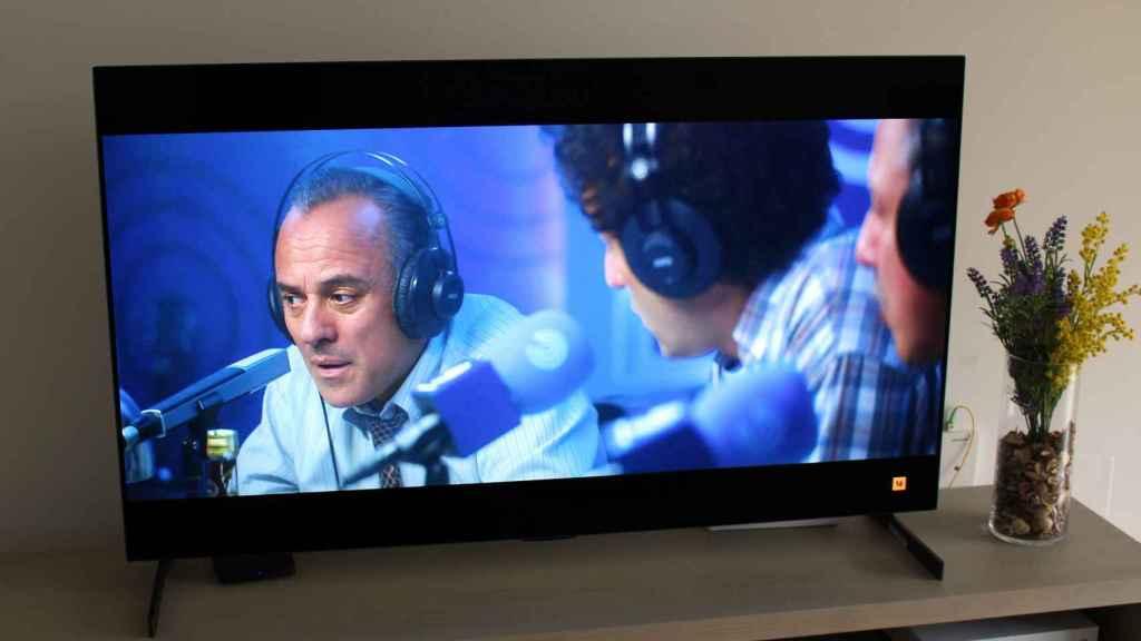 El televisor LG G1 ofrece imágenes más nítidas y realistas.