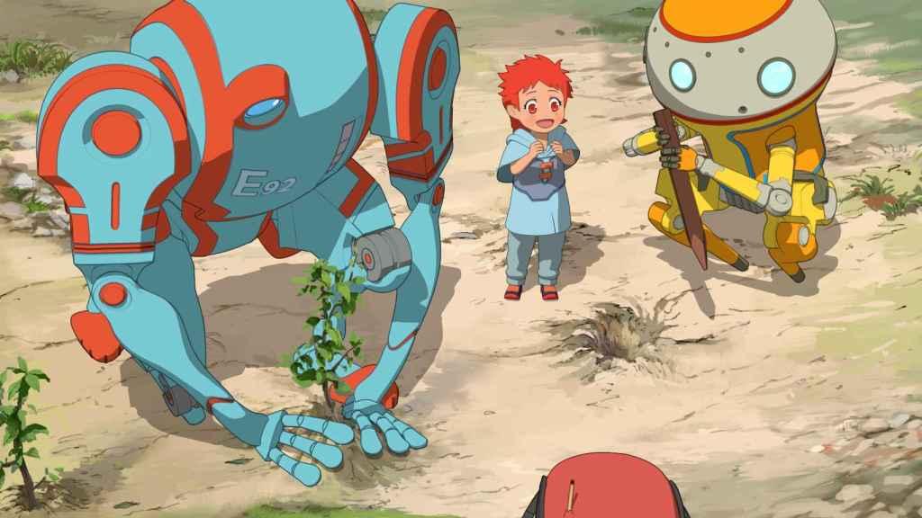Fotograma de la serie anime de Netflix 'Edén'.
