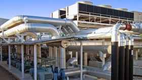 Planta de cogeneración con gas