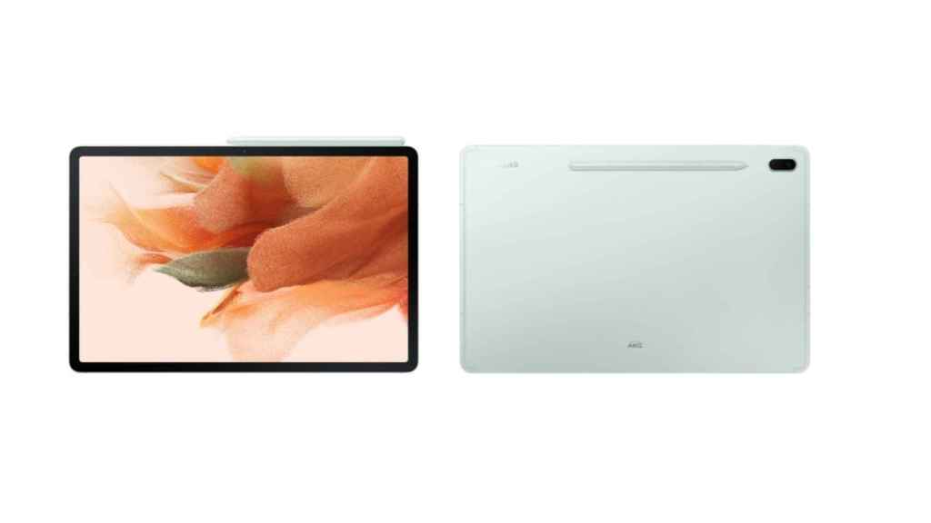 Galaxy Tab S7 FE diseño