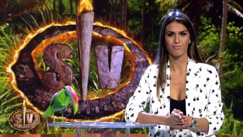 Sofía Suescun ha estado al frente de 'Aventura extrema' durante 33 programas.
