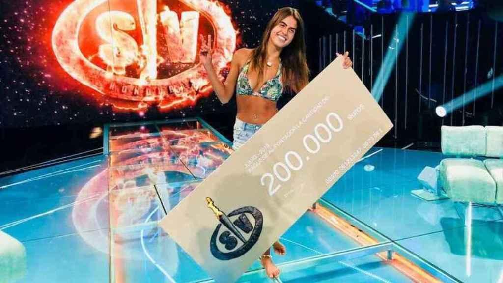 Sofía Suescun ganó 'GH 16' y 'Supervivientes 2018'.