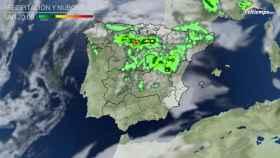 Precipitaciones previstas para el último fin de semana de mayo.