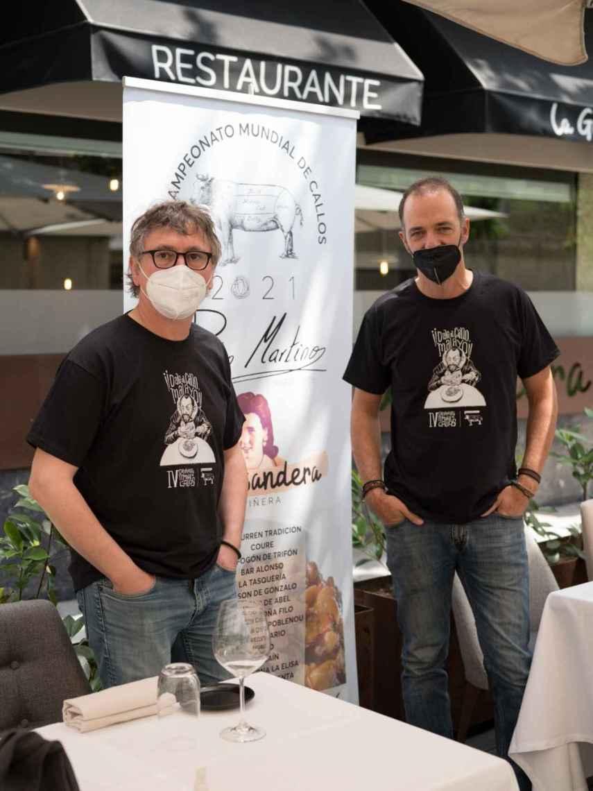 IV Campeonato Mundial de Callos, Andoni Luis Aduriz y Pedro Martino