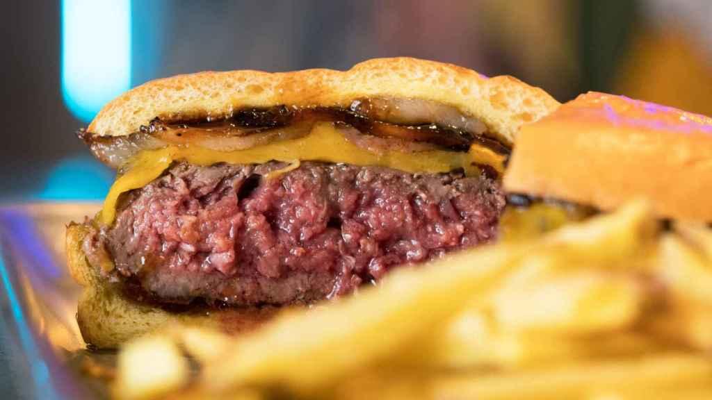 La  BaconJuancheesburger de Juancho's