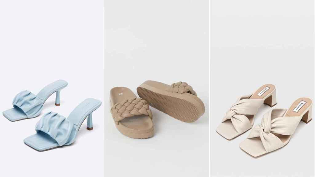 Las sandalias acolchadas son el modelo tendencia.