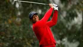 Tiger Woods, durante el The Masters de 2020