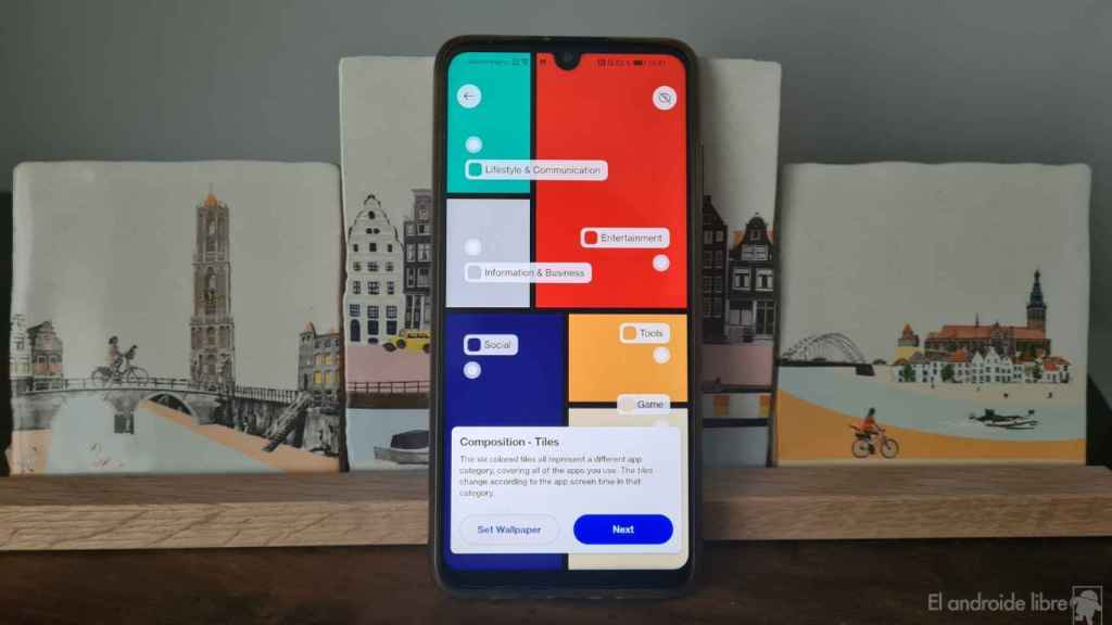 Este fondo de pantalla de OnePlus te dice cuánto usas tu móvil y ya puedes descargarlo