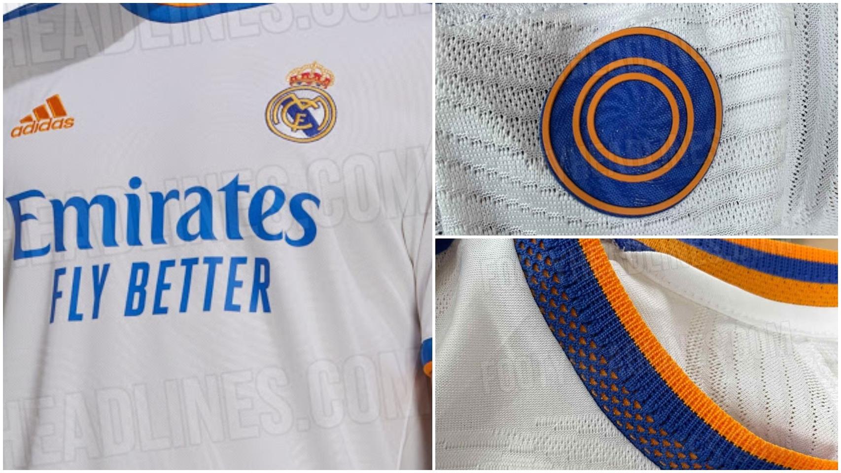 Real Madrid - 1ª equipación