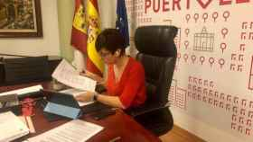 Isabel Rodríguez, alcaldesa de Puertollano, en una imagen de archivo