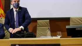 Iván Redondo, este jueves en el Congreso.