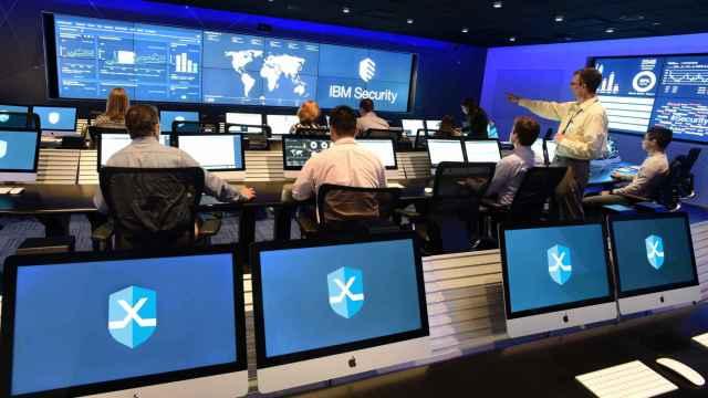 El SOC de IBM, X Force, en una imagen de archivo.