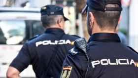 Agentes de la Policía Nacional, en imagen de archivo.