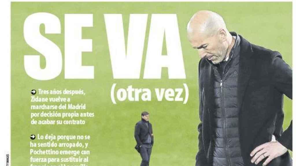 La portada del diario Mundo Deportivo (28/05/2021)
