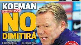 La portada del diario SPORT (28/05/2021)
