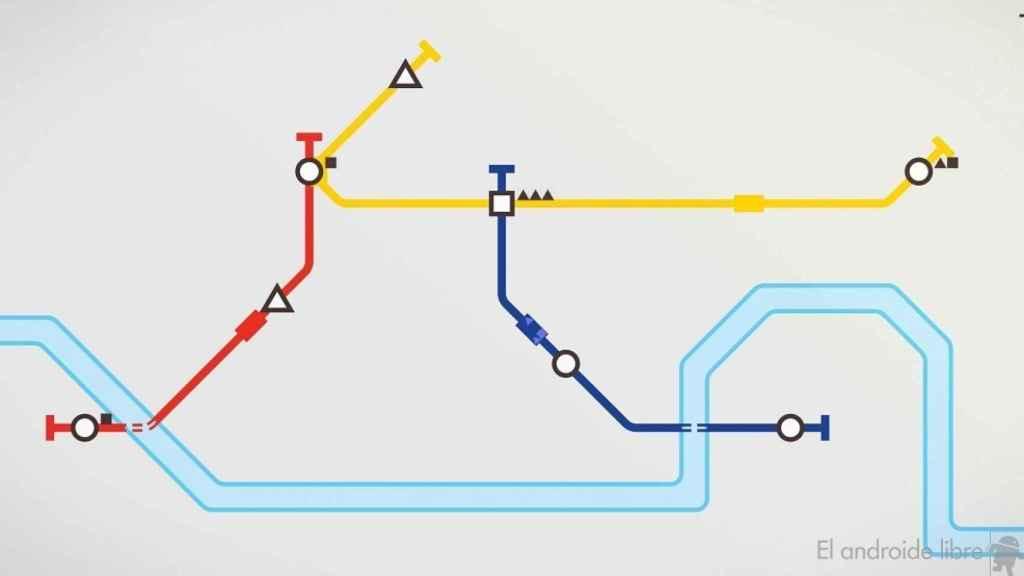 Mini Metro crear lineas