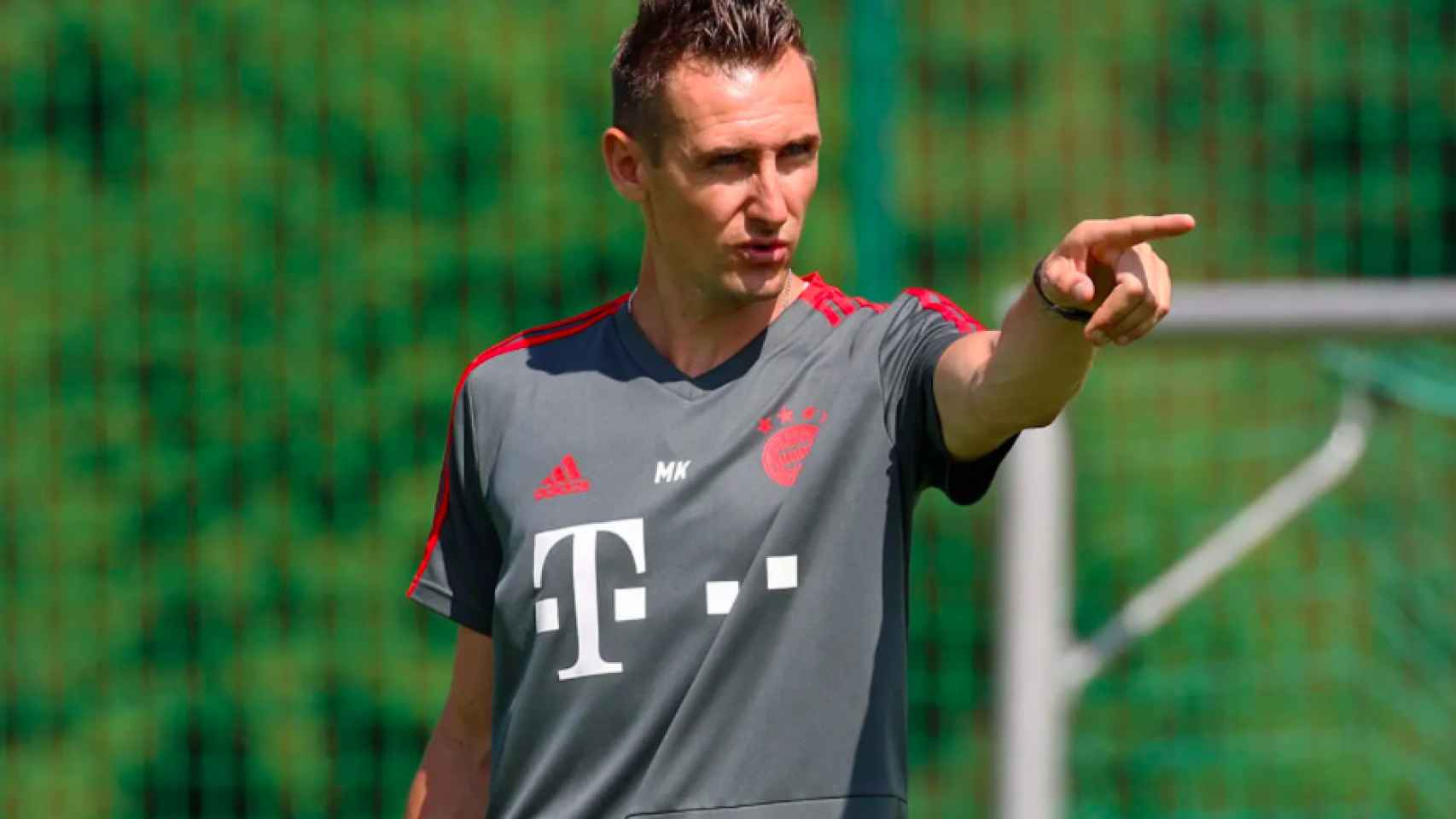 Miroslav Klose, en el Bayern