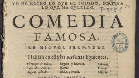 La comedia desconocida de Lope de Vega encontrada en la Biblioteca Nacional Española