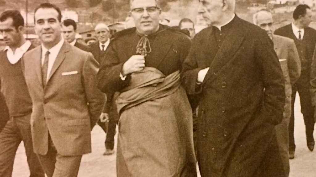 José Aragonés, abuelo de Pere Aragonés y último alcalde franquista de Pineda.