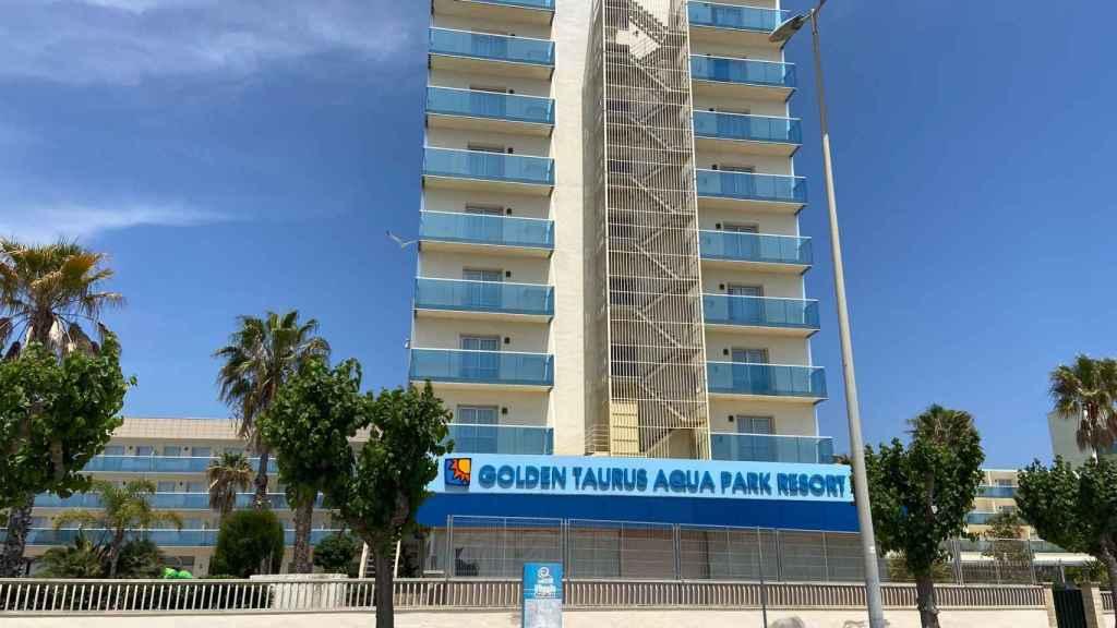 Hotel donde sucedió la catástrofe con 18 muertos  en plena construcción.