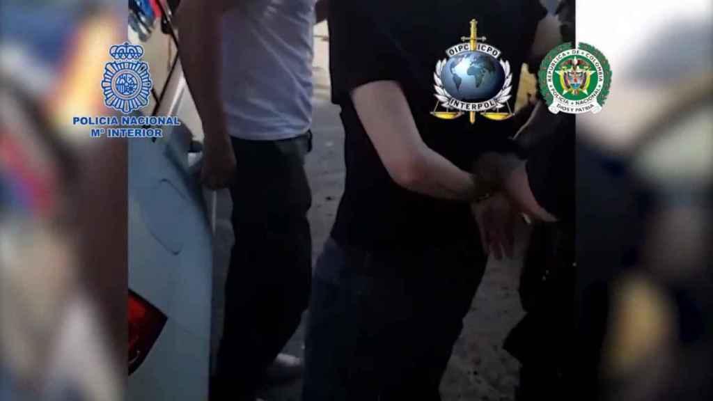 Detalle de la operación en la que Nené ha sido nuevamente detenido, el pasado 25 de mayo.