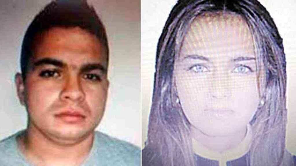 Imagen de Nené (izquierda) y su suegra a quien mandó asesinar, Sindy Tatiana Gómez Valencia.