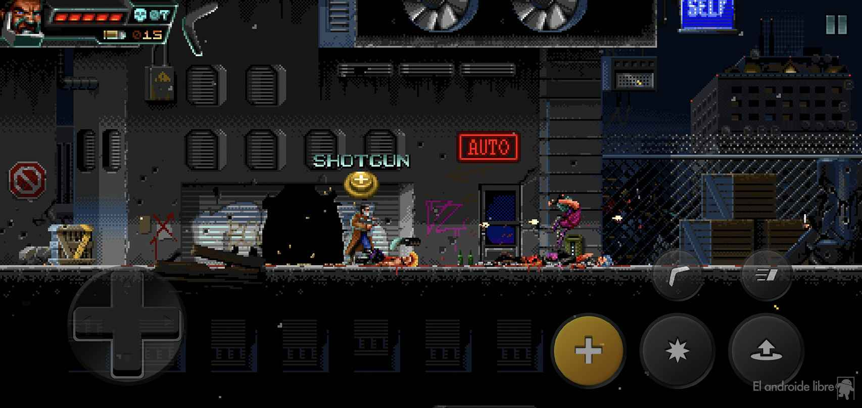 Huntdown es un juego bien especial para Android